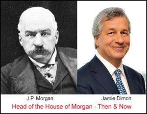 House of Morgan head then and now